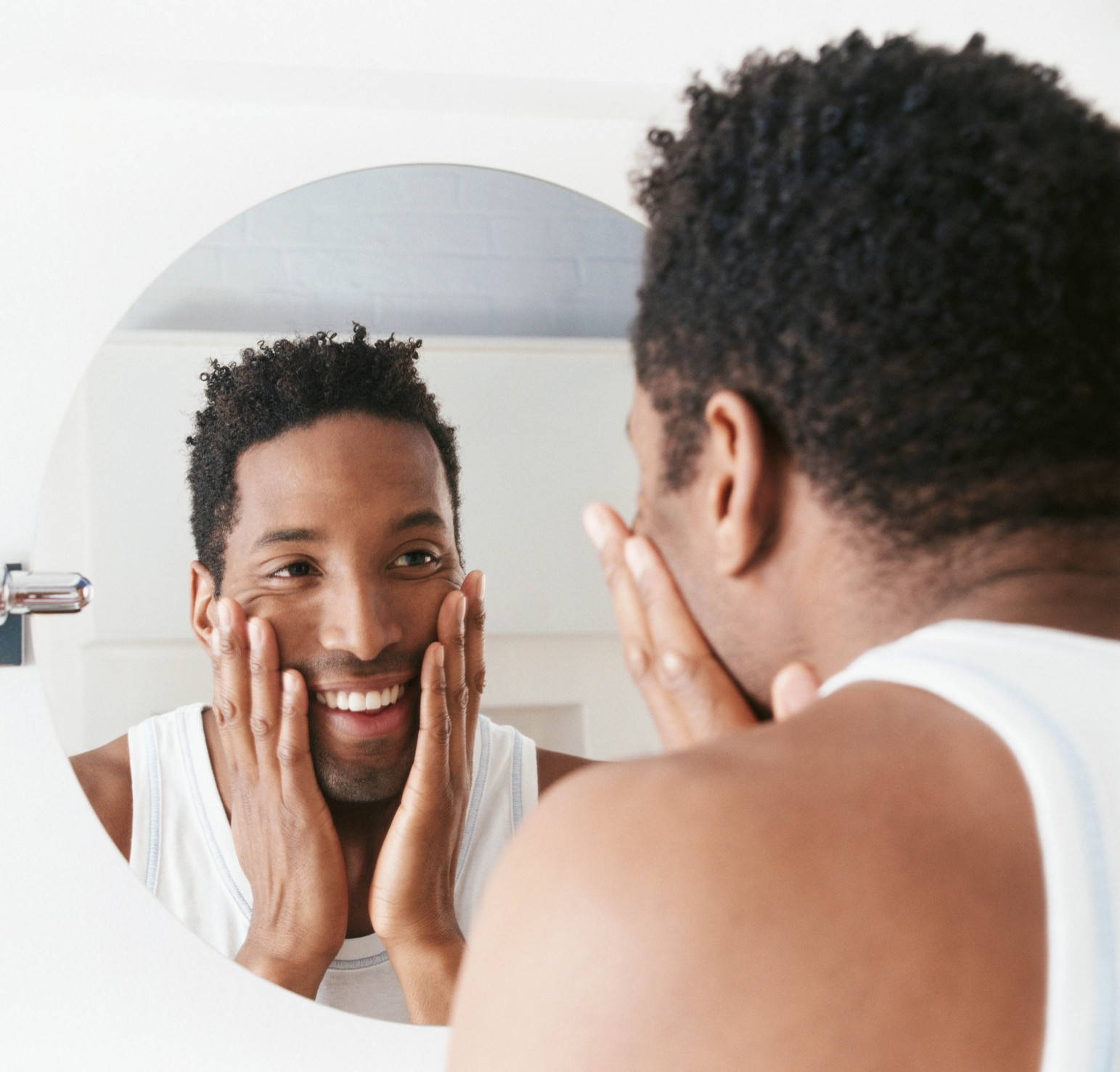 The man in the mirror h e y helping every youth for Looking mirror